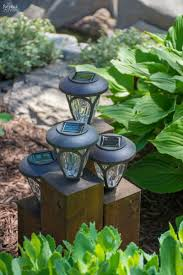 diy cedar cube landscape lights diy solar outdoor lights how to clean a solar panel how to make non working the solar lights work again simple woodworking