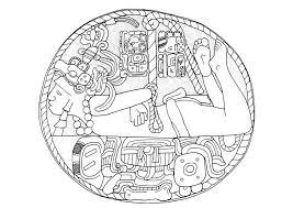 Mayan Coloring Pages Free Coloring Pages Of Mayan Masks Mayan