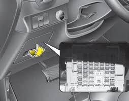 kia soul fuse relay panel description fuses maintenance kia inside the fuse relay panel covers you can the fuse relay label