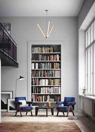 frame built in shelf in this bright and airy space home library design built home library