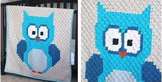 Crochet Owl Blanket Pattern Free Extraordinary Baby Owl Crocheted Blanket [FREE Crochet Pattern]