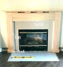 fireplace mantel height fireplace mantel height how to make a fireplace mantel fireplace drab to fab