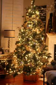 Christmas Tree in a wine barrel - Love love!