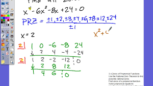 aawt 3 4 zeros of polynomial functions solving polynomial equations