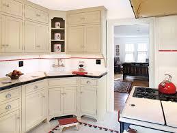 Bungalow Kitchen Black White Bungalow Kitchen Makeover Old House Restoration