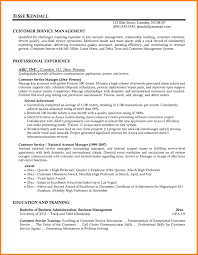 Resume Summary Examples Customer Service Manager Socalbrowncoats