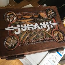 Real Wooden Jumanji Board Game Jumanji Inspired Wooden Board Game 1000010000 scale 32