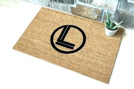 door target outdoor mats rugs indoor entry half round low profile mat hi front inside