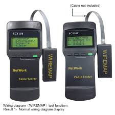 sc8108 cat5 rj45 network lan cable tester wire tracker 4 far end technical specification: overall dimension 180 82 40mm power supply:4 1 5v size aa batteries power consumption 16ma not included)
