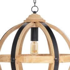 wood orb chandelier2