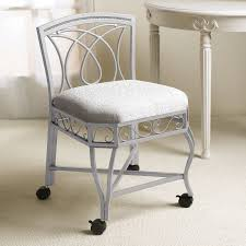 vanity chair with wheels contemporary furniture wonderful stool for alluring folding inside 5