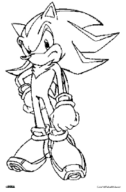 Small Picture Shadow The Hedgehog Coloring Book Coloring Coloring Pages