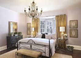 chandelier in bed room
