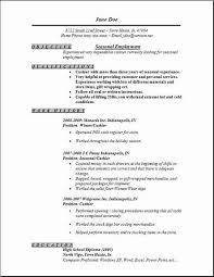 Employment Resume Examples Musiccityspiritsandcocktail Com
