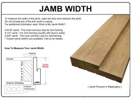 what is a door jamb. Prehung Exterior Door Jamb Widthexterior Width Doors Ideas What Is A