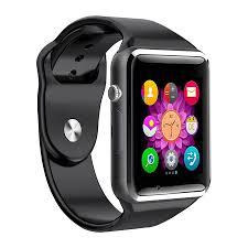 Đồng hồ thông minh A1 tặng thẻ nhớ 16GB (Đen) | Panda.