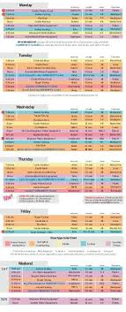 Printable Fitness Chart View Printable Fitness Pilates Schedule Castle Hill Fitness
