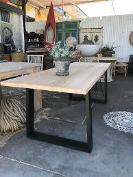 custom australian hardwood dining table melbourne