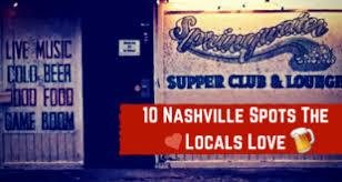 110 nashville spots the locals love