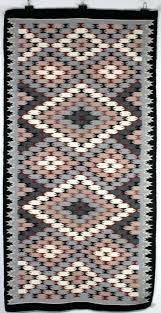 navajo runner rug erfly pattern