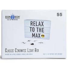 We did not find results for: Classic Cinematic Light Box 5 75in X 8 25in Five Below Five Below Light Box Classic