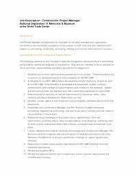 Business Resume Examples Best Of Construction Worker Resume Sample