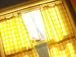 Yellow Gingham Kitchen Curtains Kitchen Curtain Yellow Decorate Our Home With Beautiful Curtains