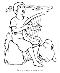 Free Bible Coloring Pages To Print Bible Story Coloring Pages