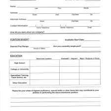Print Out Resume Resume Work Template