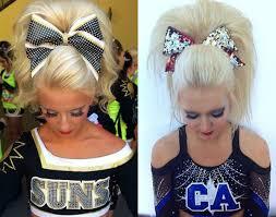 cheer hairstyles