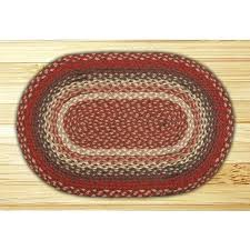 red jute rug uk burdy oval braided