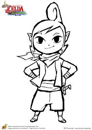 Small Picture Image colorier de Tetra la jolie personnage dans le jeu Zelda