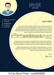Elements Of A Good Cover Letter New Cool New Modern Cover Letter Template With Circle Elements