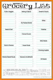 grocery list template printable 6 free grocery list template printable 952 limos