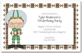 Football Party Invitations Templates Free Boys Football Party Invites Football Party Invitations Templates