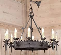 antique iron chandeliers vintage gothic wrought iron chandelier wrought iron