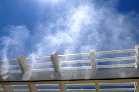 thinkstock mist cooling works to lower the surrounding air temperature by a process of evaporation