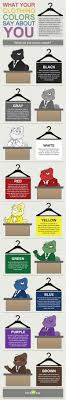 best images about job interview infographics infographic what your clothing colors say about you