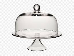 icebox cake glass birthday cake cloche patera gray metal plate