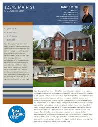 property flyer publisher templates reo family marketing