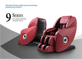 added features of the 9 series 4d l shaped ultimate massage chair that are not found on most other massage chairs