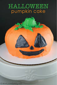 Halloween Bundt Cake Decorations Halloween Pumpkin Cake Mom Loves Baking