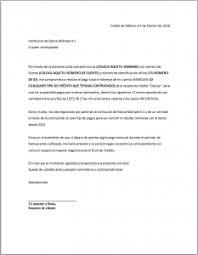 Carta Compromiso Formatos Y Ejemplos Milformatos Com