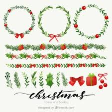christmas present borders and frames. Brilliant And Floral Wreaths And Watercolor Borders Of Throughout Christmas Present Borders And Frames T