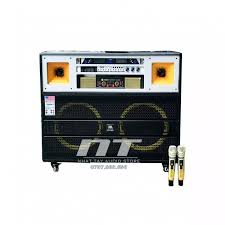 Dàn loa karaoke di động công suất lớn cắm điện trực tiếp 220V - Loa kéo  điện thùng gổ sử dụng cục đẩy - JBL 1205