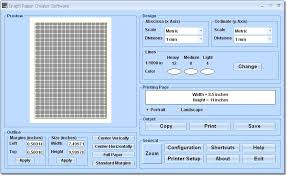 Graph Paper Creator Software