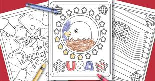 Nothing beats coloring and this is why i create so many printable coloring pages. Free Printable July 4th Coloring Pages For Kids Sunny Day Family