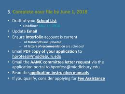 interfolio upload letter of recommendation application bootcamp ppt download