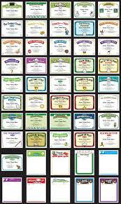 parenting certificate templates 86 best award certificates templates images on pinterest award