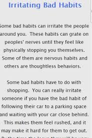driving habits essay bad driving habits essay